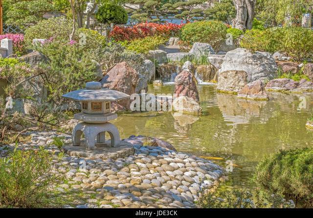 Japanese garden fish stock photos japanese garden fish for Japanese garden fish