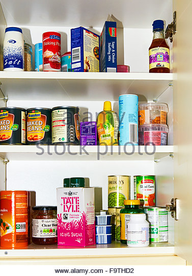 Stocked Cupboard Stock Photos Stocked Cupboard Stock Images Alamy