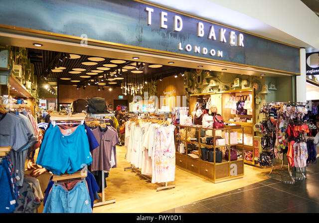 Airport clothing stores