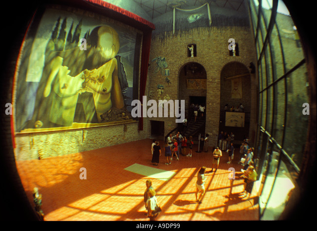 Figueres Dali Theater Museum Stock Photos & Figueres Dali ...