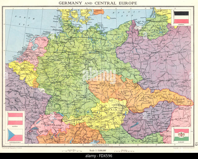 World War Map Stock Photos World War Map Stock Images Alamy - Germany map pre ww2