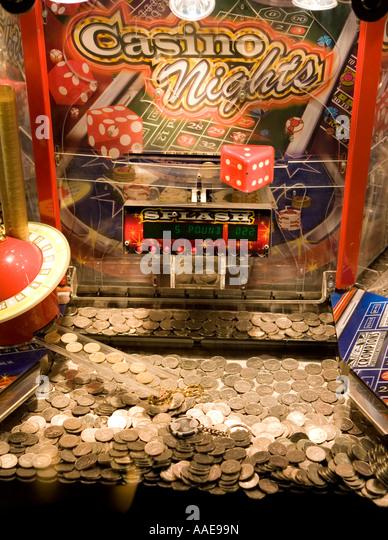 slot machine coins
