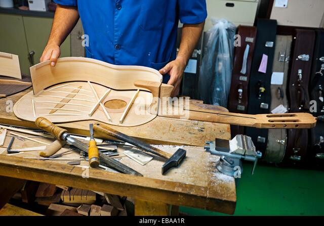Luthier stock photos luthier stock images alamy for Luthier madrid