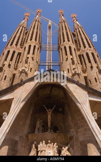 La sagrada familia stock photos la sagrada familia stock for La sagrada familia church