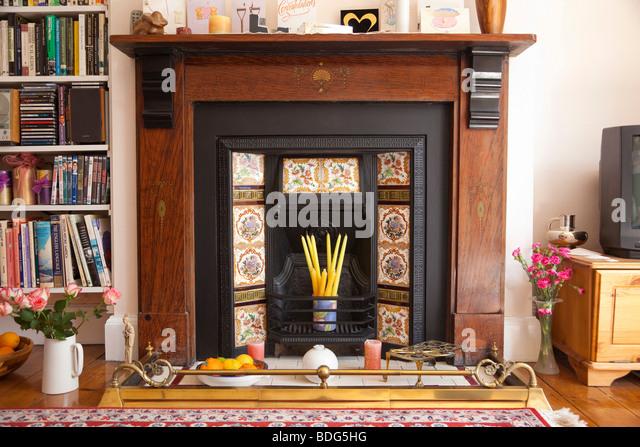 Victorian Fireplace Stock Photos Victorian Fireplace Stock