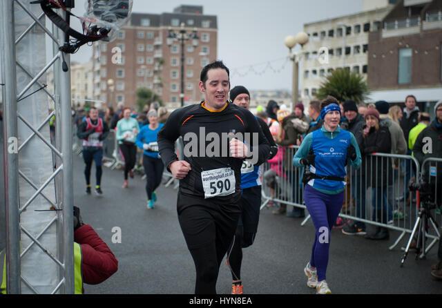 Runners Finish Line Stock Photos & Runners Finish Line ...