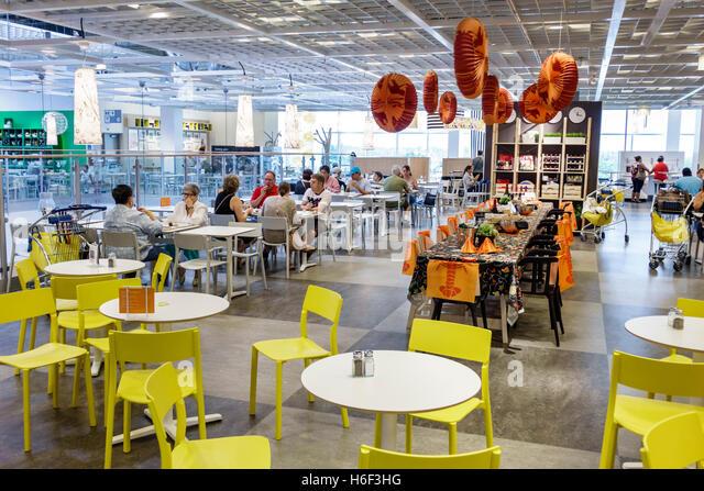 Ikea restaurant stock photos