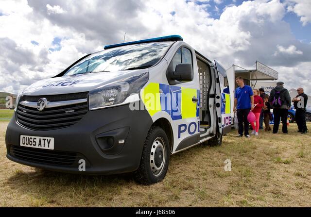 Thames Valley Police van - Stock Image
