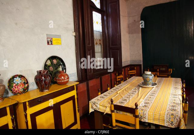 Dining Room Museo Casa De Leon Trotsky House Museum Coyoacan