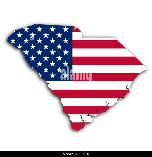 South Carolina Border Stock Photos South Carolina Border Stock
