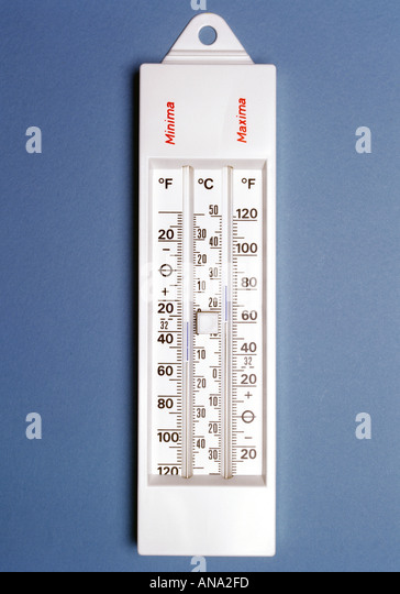 min max thermometer stock photos min max thermometer stock images alamy. Black Bedroom Furniture Sets. Home Design Ideas