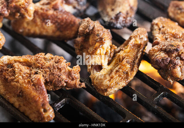 how to cook chicken wings on barbecue
