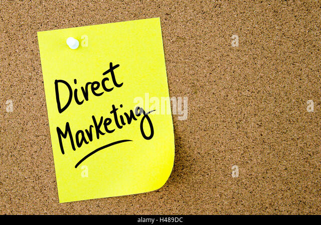 direct marketing notes Unlike email or other digital marketing campaigns, only direct mail can offer a handwritten note studies show a personalized note can increase response to a.