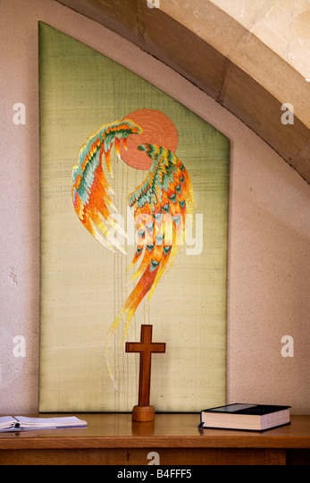 Embroidery church of england stock photos