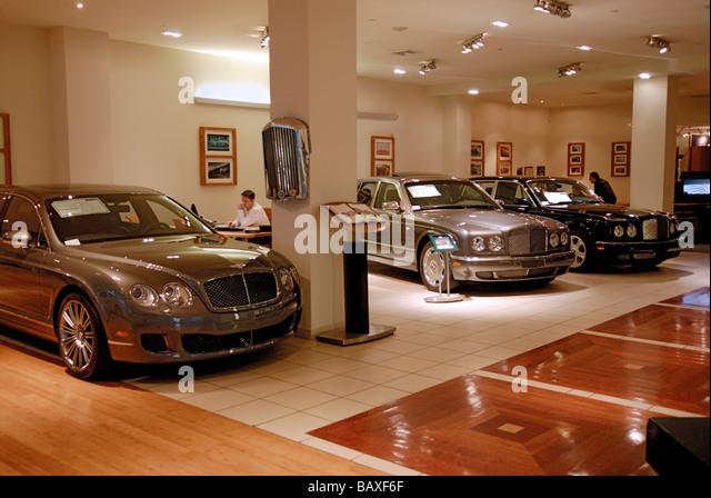Expensive Luxury Car Dealership Stock Photos Expensive Luxury