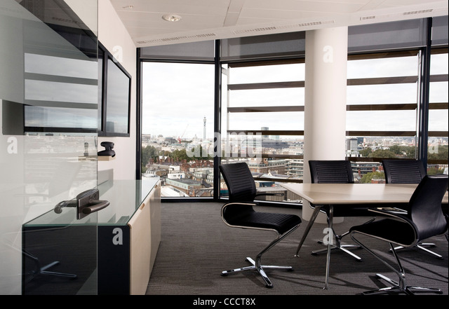 Modern office fit out stock photos modern office fit out for Office fit out