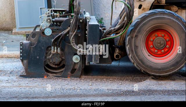 asphalt milling machine for skid steer