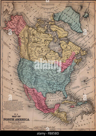 America Map 1861 Stock Photos  America Map 1861 Stock Images  Alamy