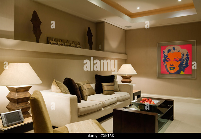 cinema room stock photos cinema room stock images alamy. Black Bedroom Furniture Sets. Home Design Ideas