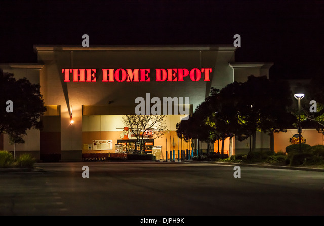 A Home Depot Store In Rancho Cucamonga California   Stock Image