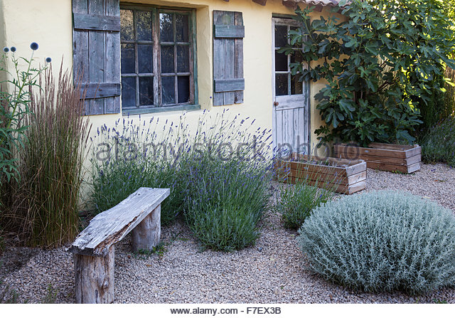 Garden Design With Gravel Garden Stock Photos Uamp Gravel Garden Stock  Images Alamy With Small Backyard