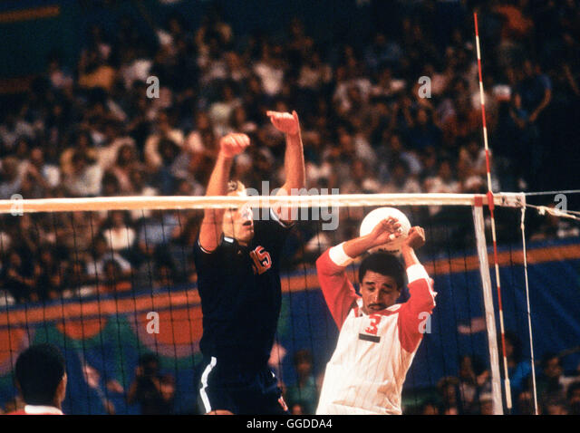 usa 15 karch kiraly in action during match at long beach arena mens 1984