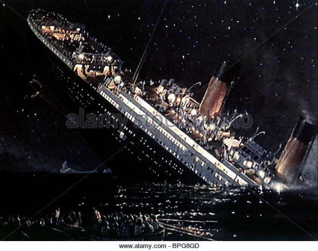Titanic Sinking Movie Stock Photos & Titanic Sinking Movie ...