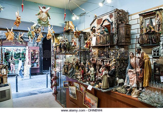 San gregorio armeno stock photos san gregorio armeno for Craft stores naples fl