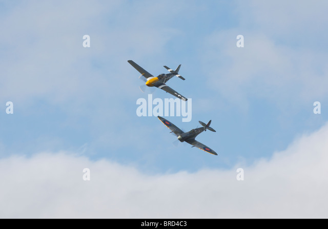 Spitfire FormationStock Photos and Images