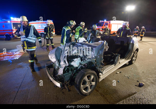 car wreck on freeway stock photos car wreck on freeway. Black Bedroom Furniture Sets. Home Design Ideas