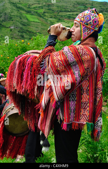 Man is playing on instrument during traditional peruvian wedding ceremony     Stock ImagePeruvian Wedding Stock Photos   Peruvian Wedding Stock Images   Alamy. Peruvian Wedding Dress. Home Design Ideas