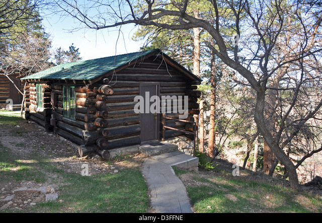 Grand Canyon Cabins Stock Photos Grand Canyon Cabins