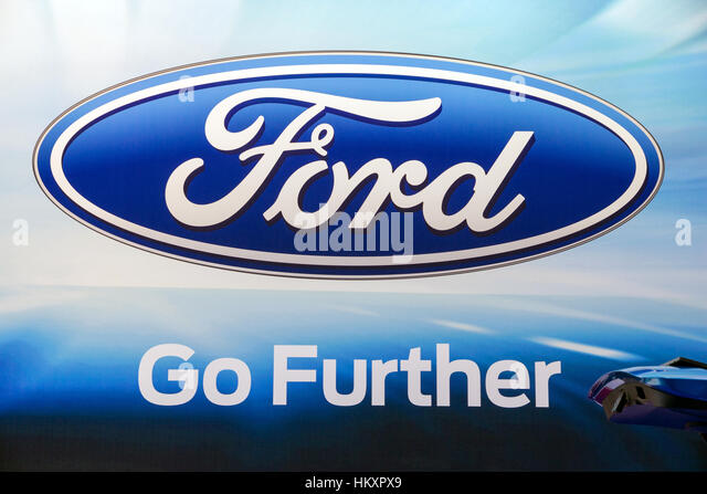 Ford Logo Stock Photos Images