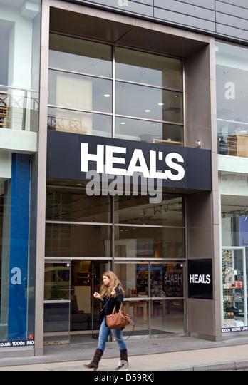 Heals Furniture Store Stock Photos  | heals furniture store