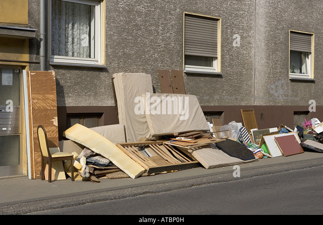 Bulky waste stock photos bulky waste stock images alamy for Depot bergisch gladbach