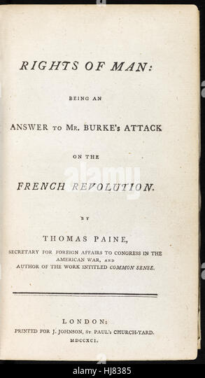 thomas paine rights of man ap Thomas paine (29 january 1737–8 june 1809) was an english pamph- leteer   revolution he wrote the rights of man (1791), a guide to enlightenment ideas.