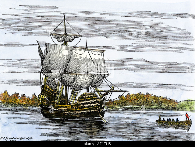 the mayflower carried the first pilgrims to america When the mayflower neared america's coastline on nov 9, 1620, she had  carried the pilgrims to cape cod and not the original destination  her first  voyage of record was in 1609 from london to trondheim, norway she'd.