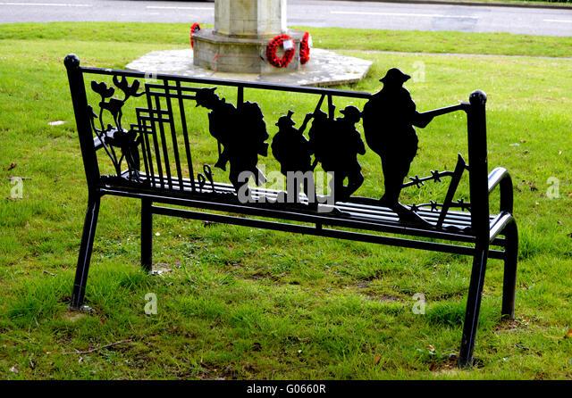 Remembrance Memorial Bench Stock Photos Remembrance Memorial Bench Stock Images Alamy