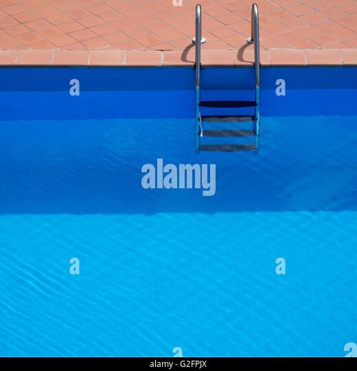 Chrome Steps Swimming Pool Stock Photos Chrome Steps Swimming Pool Stock Images Alamy