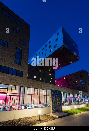 Nhow hotel stock photos nhow hotel stock images alamy for Moderne hotels deutschland