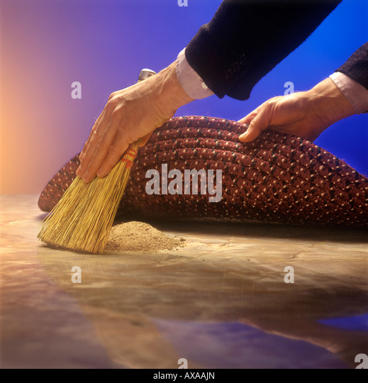 Great Swept Under The Rug   Stock Image