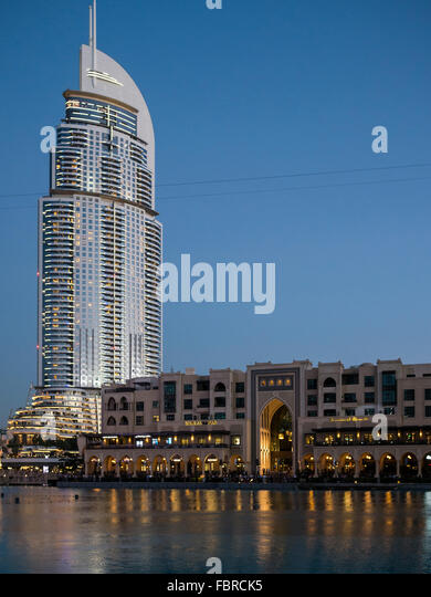 The address hotel dubai marina stock photos the address for Address hotel dubai