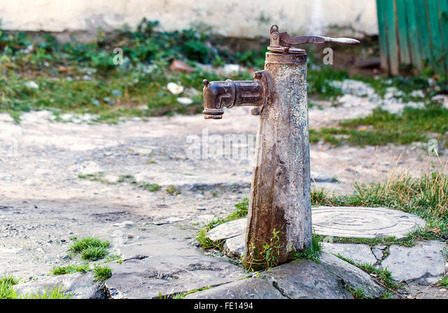 how to change outside water tap