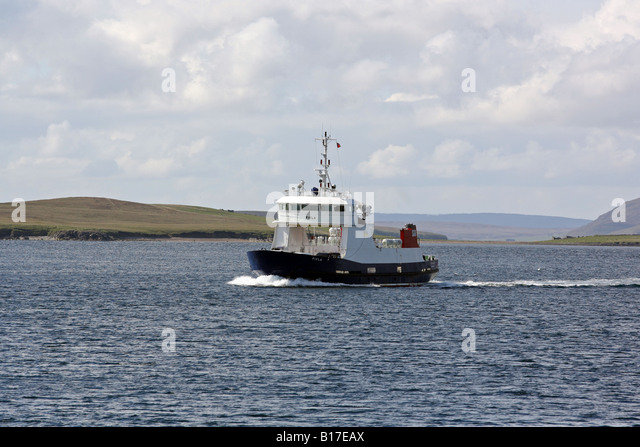 Shetland Ferry Car Stock Photos & Shetland Ferry Car Stock Images ...
