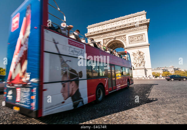 french tour bus stock photos french tour bus stock images alamy. Black Bedroom Furniture Sets. Home Design Ideas