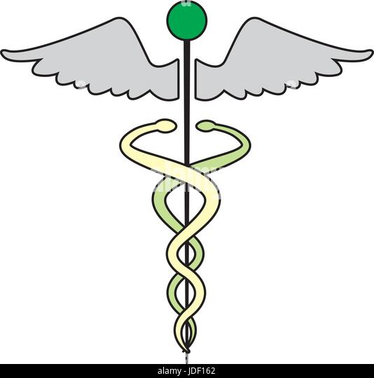 Medical Symbol Caduceus Snake Stock Photos Medical Symbol Caduceus