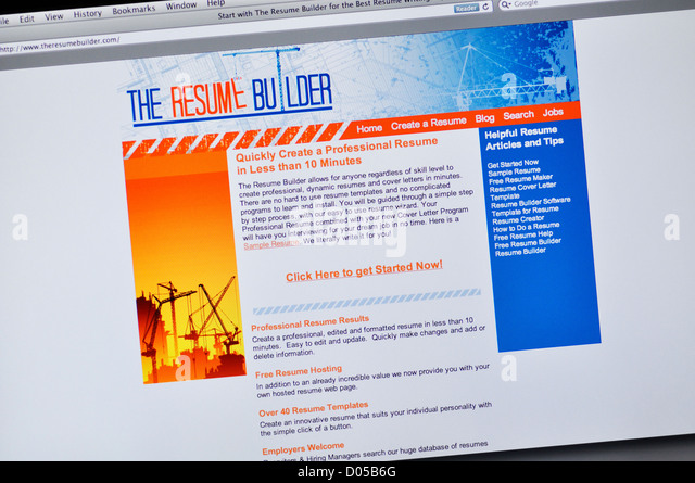 resume builder website resume format download pdf