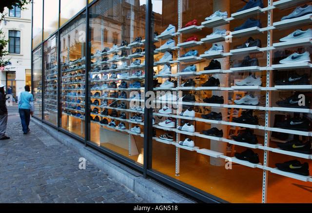 Tennis Shoes Shop Stock Photos & Tennis Shoes Shop Stock Images ...