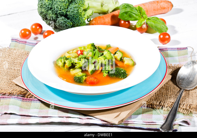 Carrot And Courgette Soup Stock Photos & Carrot And ...