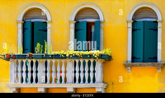 two Doors and terrace in Burano on yellow color wall building architectureVenice Italy & Terrace Doors Stock Photos \u0026 Terrace Doors Stock Images - Alamy Pezcame.Com